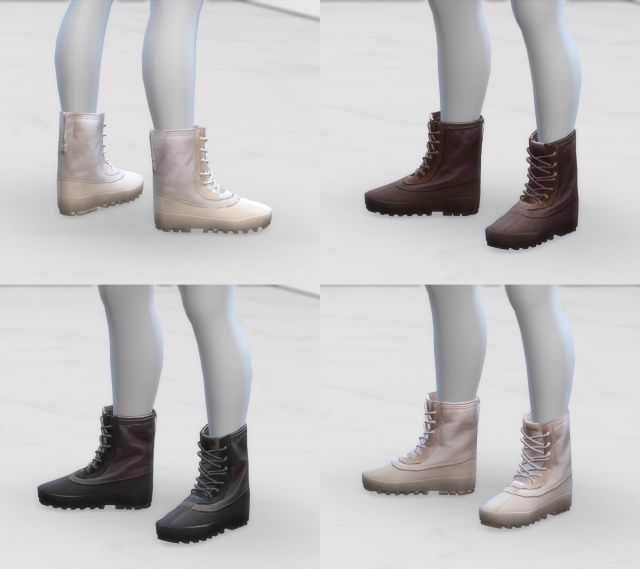 Yeezy Boots for Males by Greenapple18r