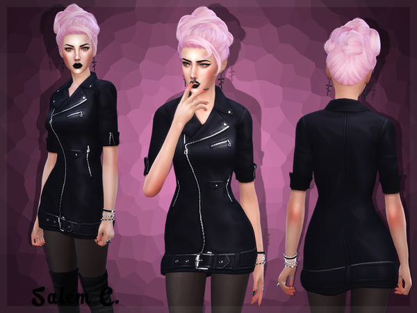 Biker dress by Salem C
