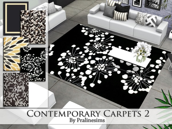 Contemporary Carpets 2 by Pralinesims