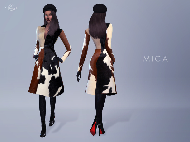 Pony Hair Coat - MICA BY starlord
