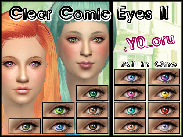Clear Comic Eyes II by YoYoru