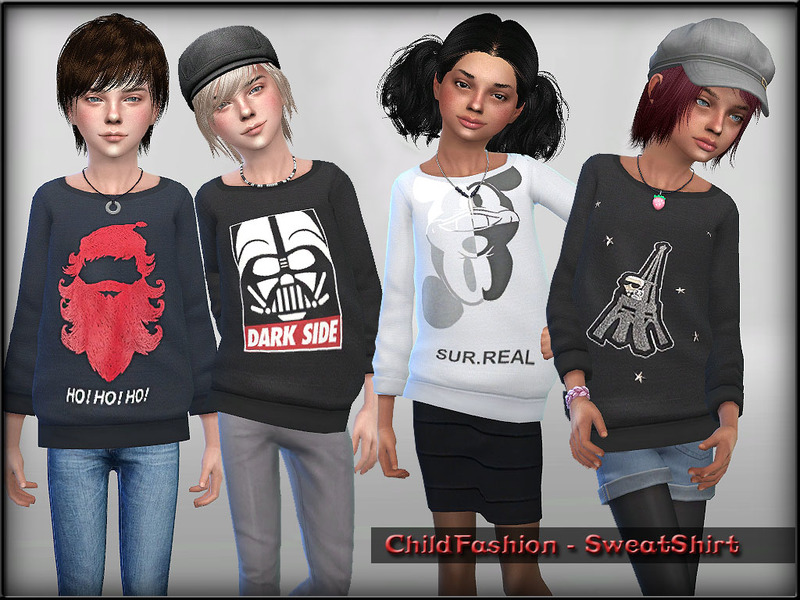 ChildFashion - SweatShirt BY ShojoAngel