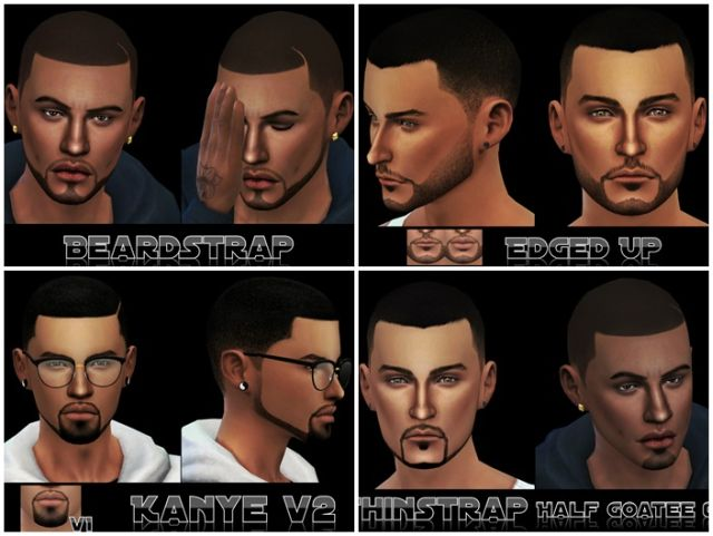 Urban Beard Collection by MagentaSims