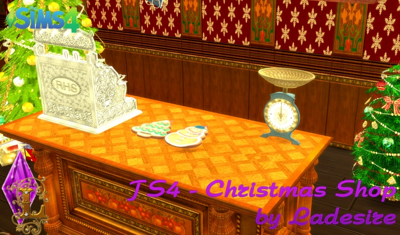 Christmas Shop (decor set) by Ladesire