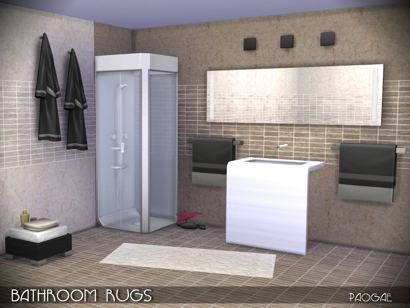 BathroomRugs   BY Paogae