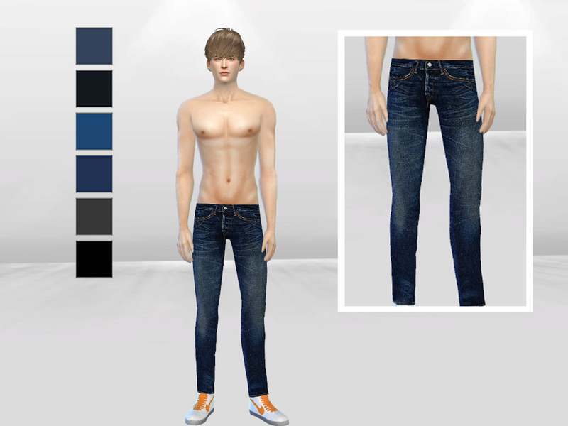 Kingsley Slim-Fit Denim Jeans   BY McLayneSims