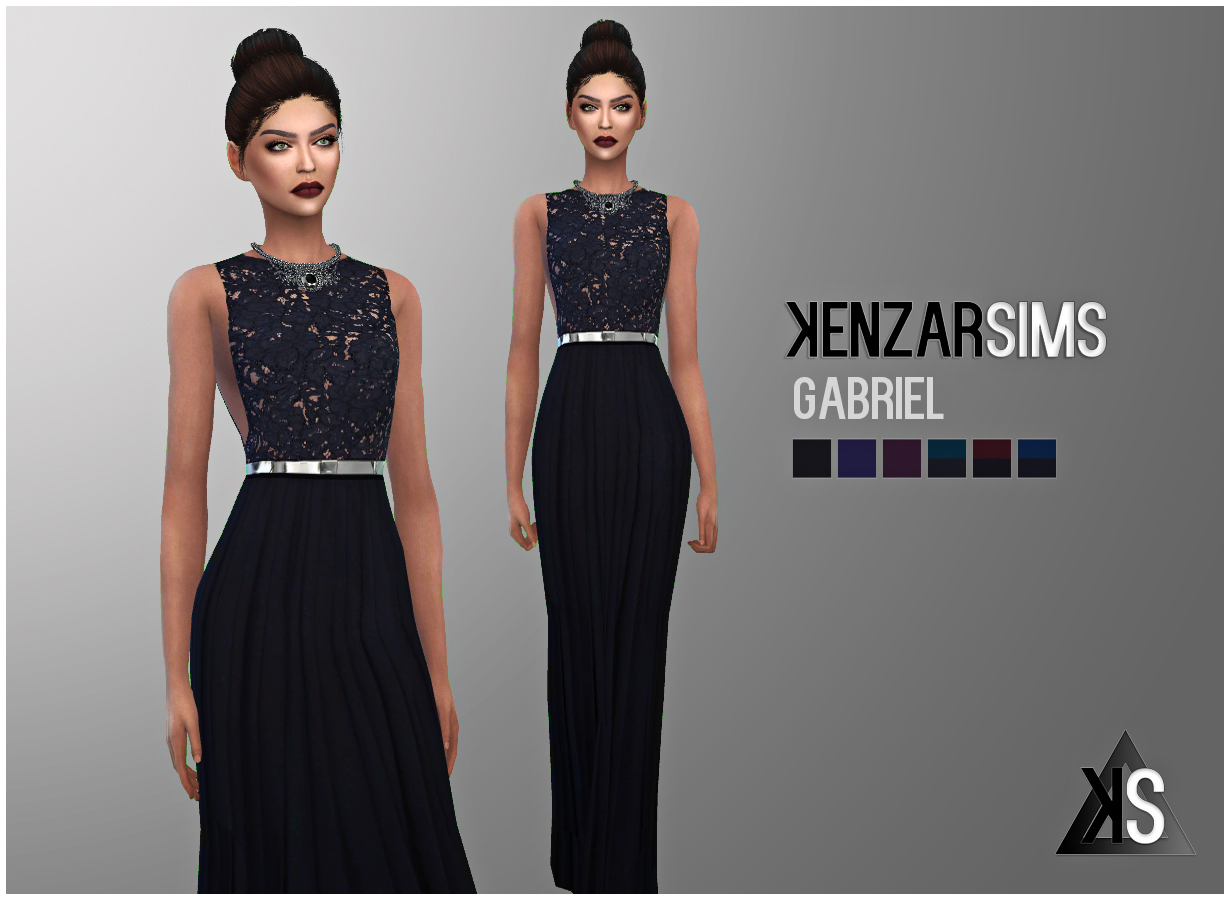 Gabriel Dress by KenzarSims
