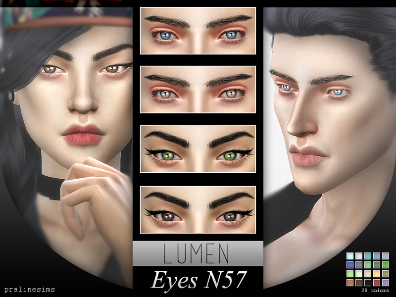 Crystal Eyes Minipack N05~ 5 Eyes BY Pralinesims