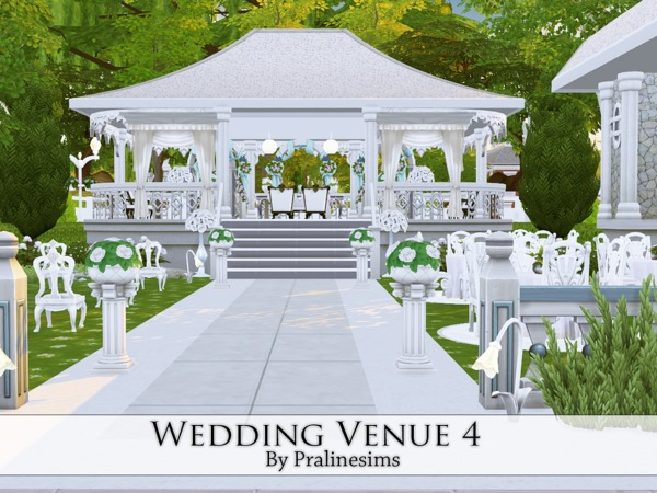 Wedding Venue 3 от Pralinesims