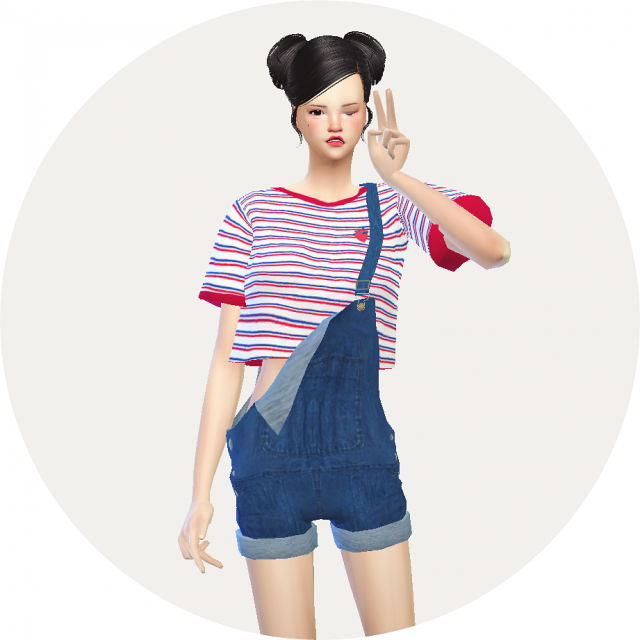 dungarees hot pants version by marigold
