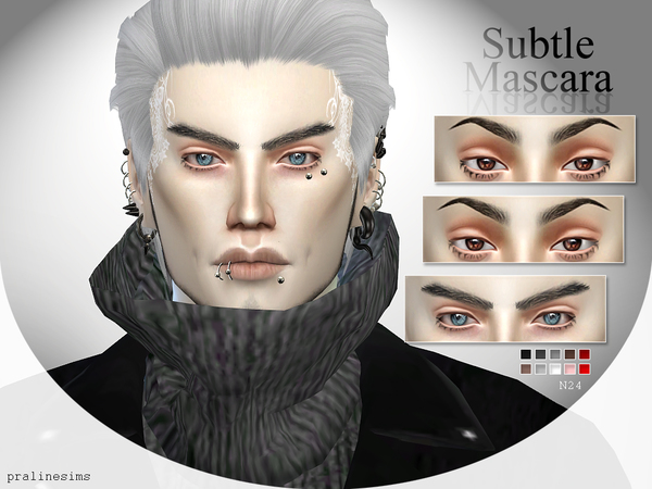 Subtle Mascara  N24 by Pralinesims