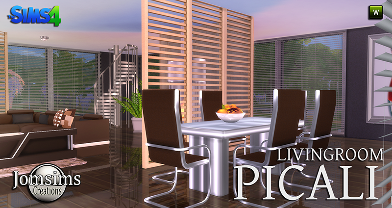 Picali Living and Dining Set by JomSims