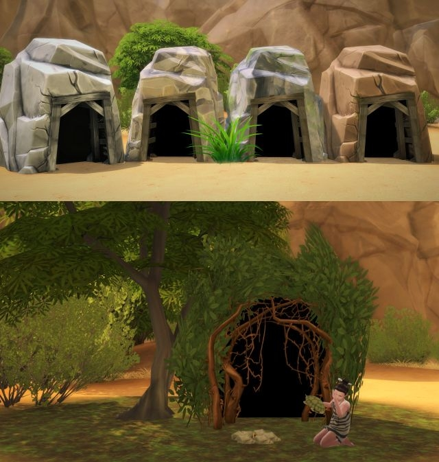 Hidden Lot Entrance Changed Into a Tent by Budgie2budgie