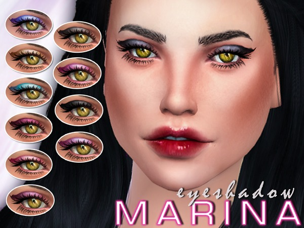 Marina's Eyeshadow by SenpaiSimmer