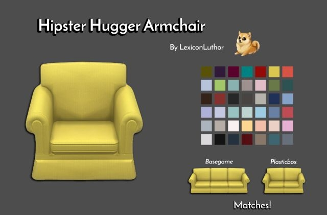 Hipster Hugger Chair by LexiconLuthor