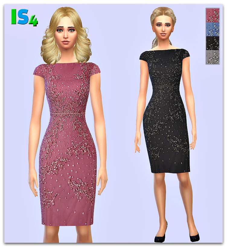 Dress in 4 Colors by Irida