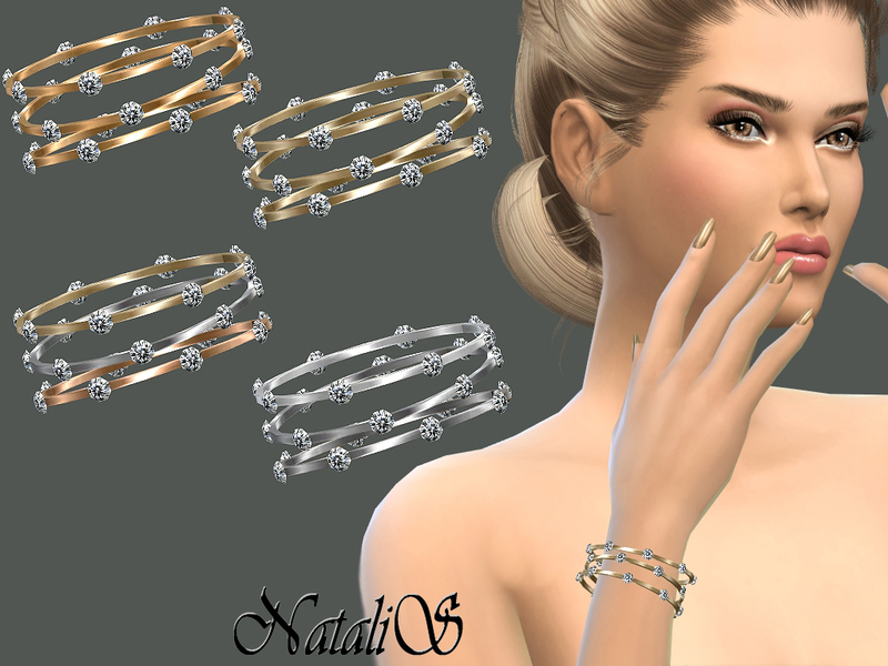 NataliS_Sleek bangles with crystals