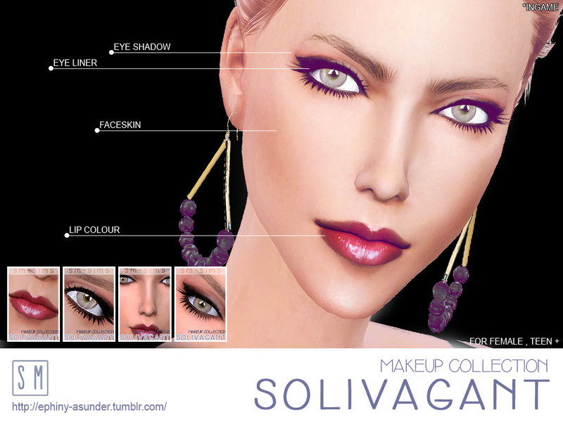 [ Solivagant ] - Makeup Collection BY Screaming Mustard