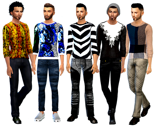 Men's Sweater set By D4S