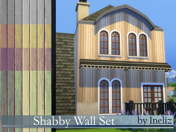 Shabby Wall Set by Ineliz