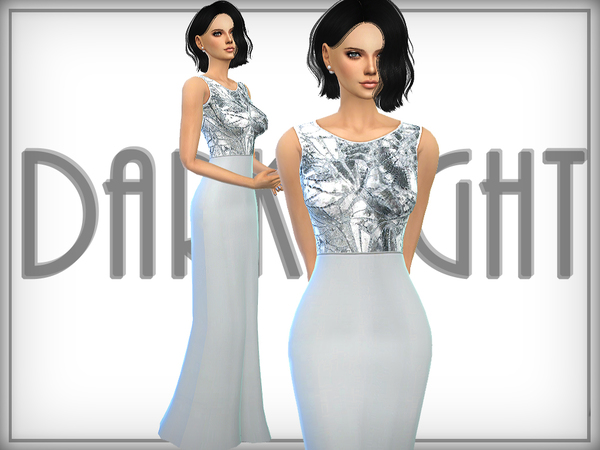 Sequined Gown by DarkNighTt