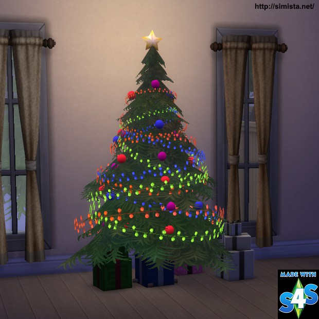 Christmas Tree and Light by Mr S