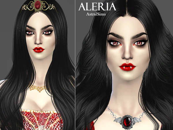 Aleria Blackrose by astralsims777
