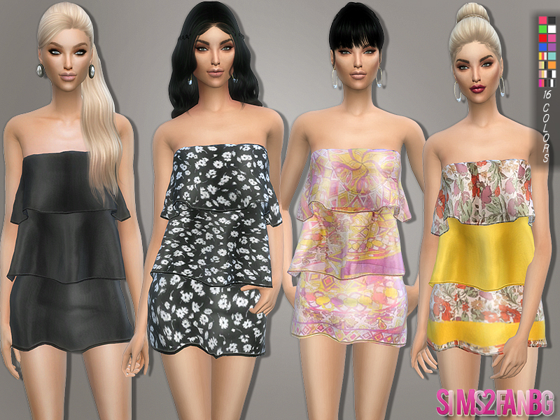 111 - Layer dress BY sims2fanbg