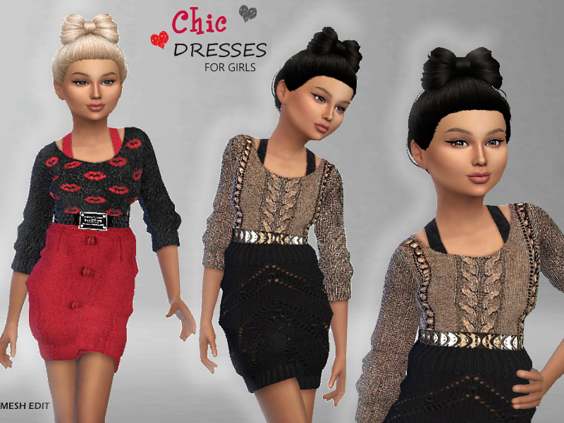 Chic Dresses For Girls  BY Puresim