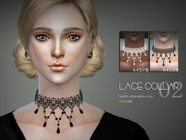 S-Club LL ts4 Lace collar 04