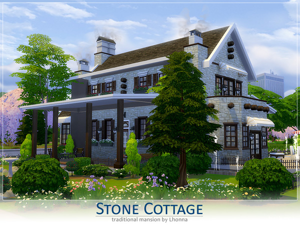 Stone Cottage by Lhonna