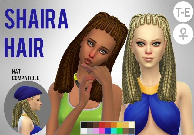 Shaira Hair by Simduction