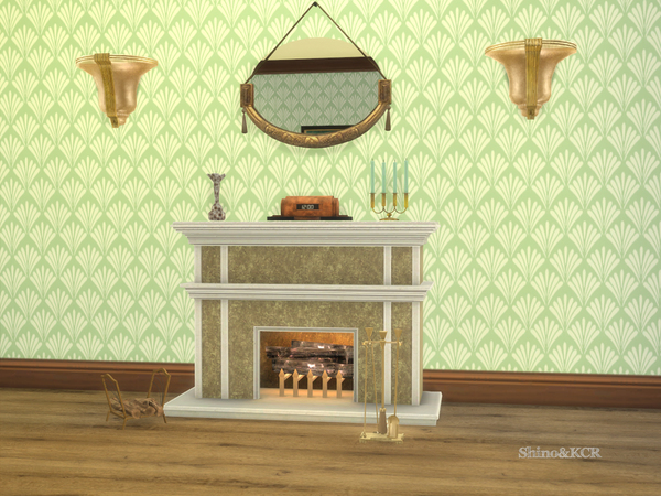 Art Deco Livingroom by ShinoKCR