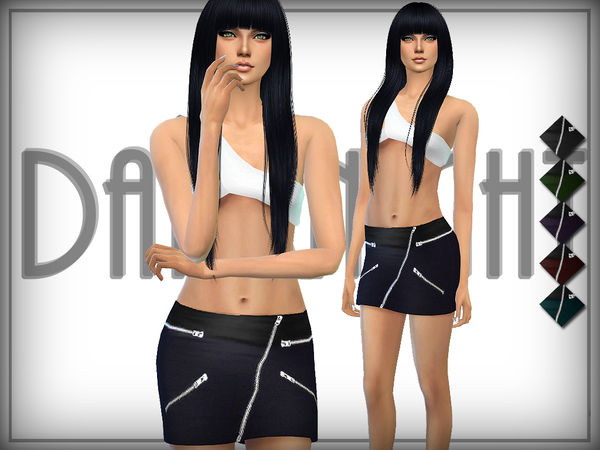 Zip Fit Skirt by DarkNighTt