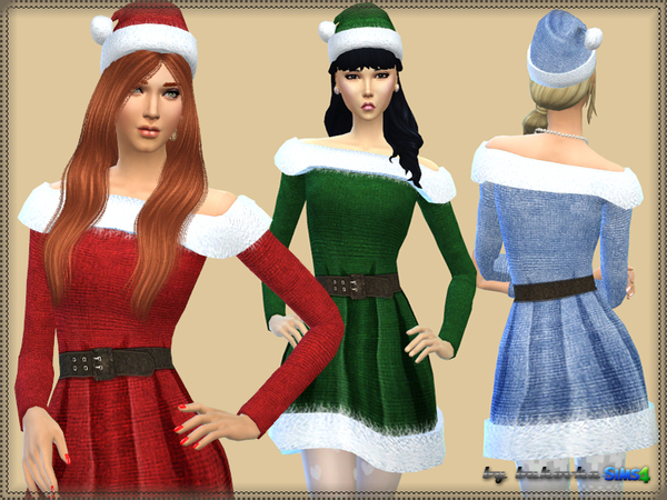 Dress Mrs. Claus by bukovka