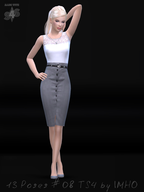 13 Poses #08 TS4 by IMHO