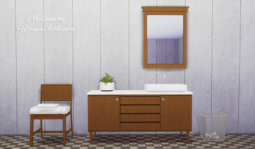 Marcussims91 warsaw bathroom conversion  by MioSims