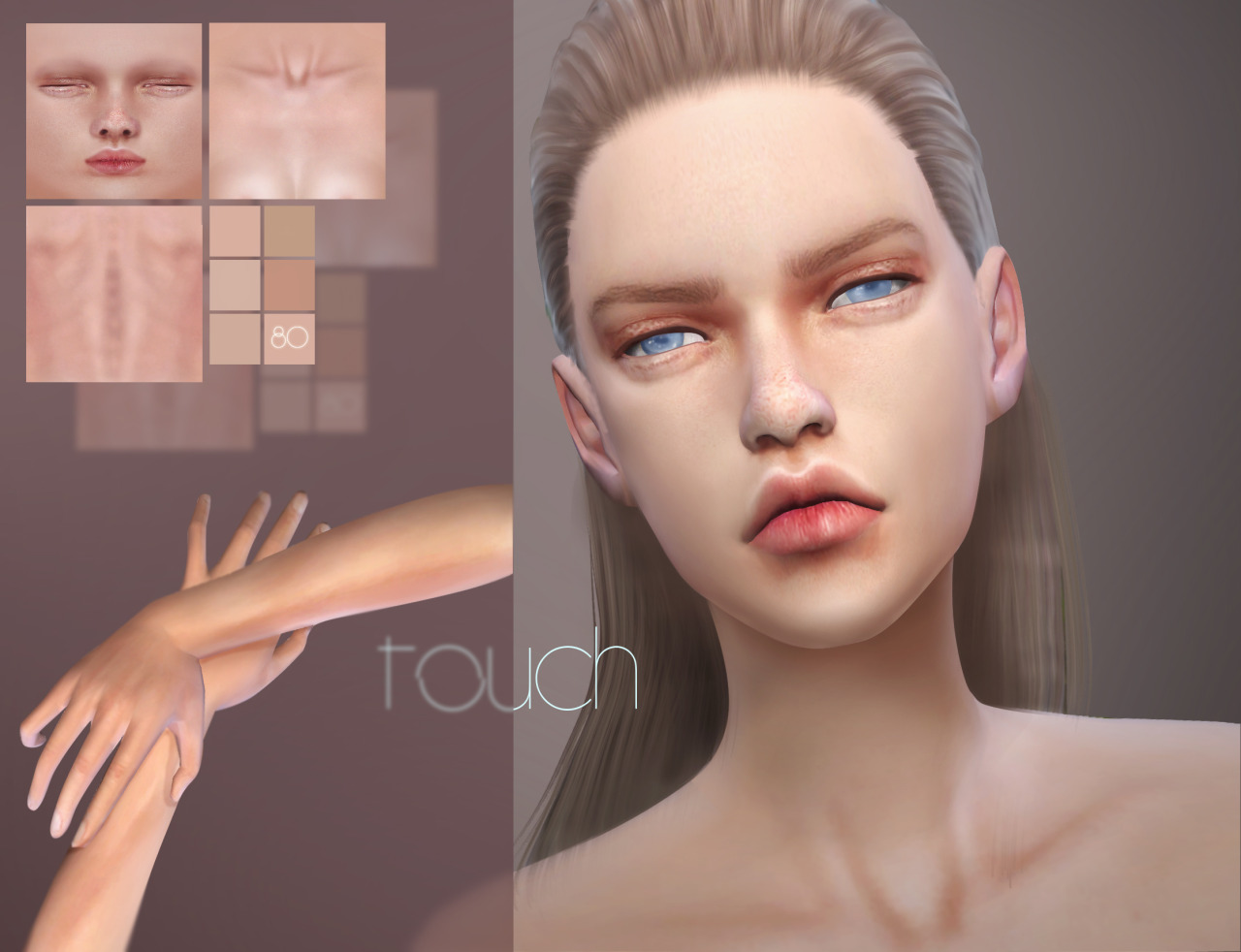 Touch Skin for Males and Females by 1000FormsOfFear
