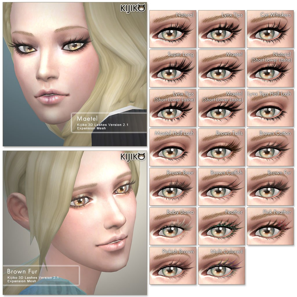 Updated 3D Lashes by Kijiko
