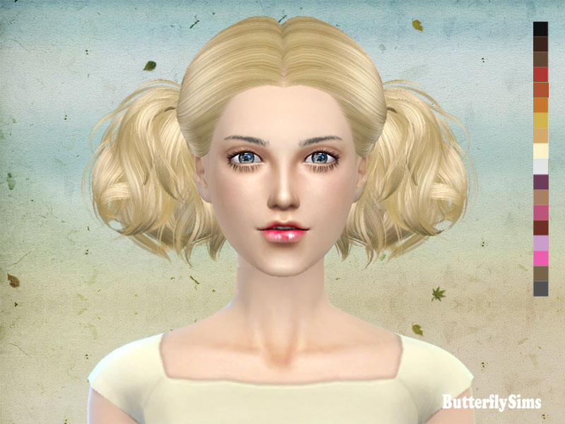 ButterflySims 088 Hair for Females