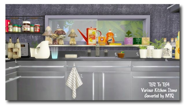 TS2 To TS4 - Kitchen Deco by MsTeaQueen