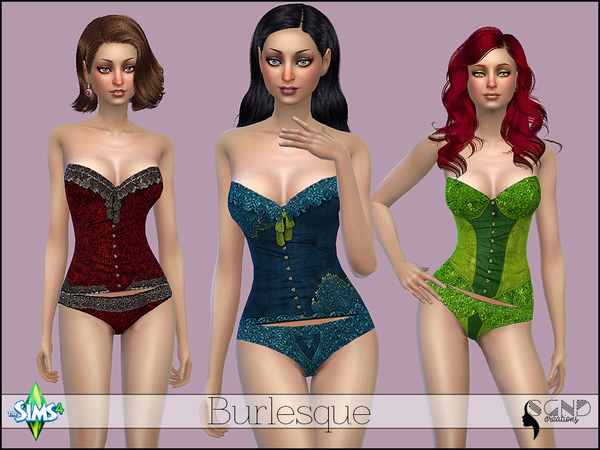 Burlesque by SimGirlNextDoor