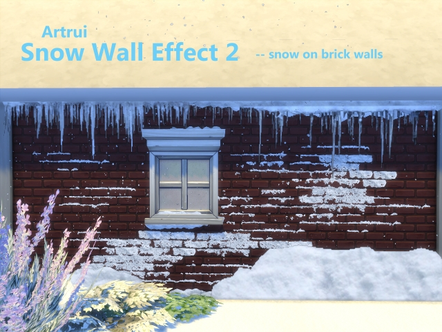 Advent Day 4: Snow Wall Effect 2 by artrui