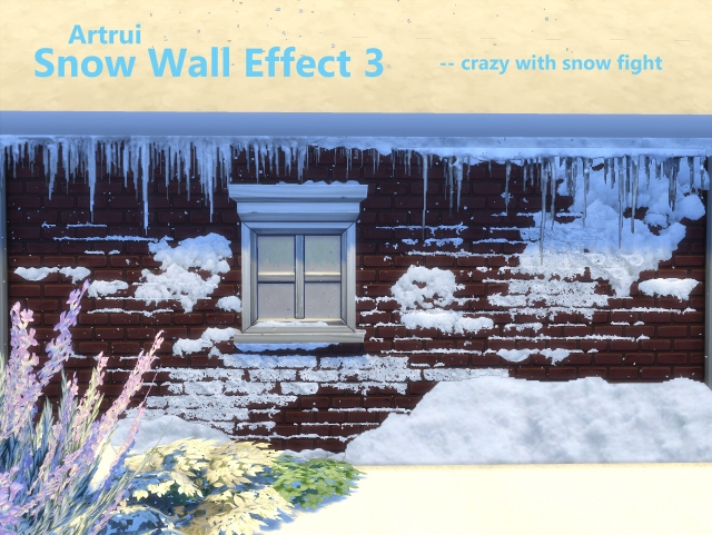 Advent Day 5: Snow Wall Effect 3 by artrui