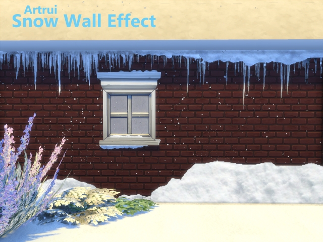 Advent Day 3: Snow Wall Effect by artrui