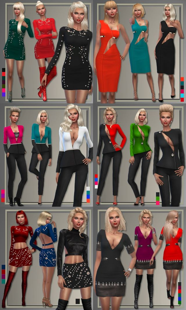 Thierry Mugler Holiday Party Outfits by Judie