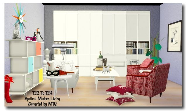 TS2 To TS4 - Apollos Modern Living by MsTeaQueen