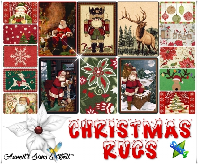 Christmas Rugs by Annett85