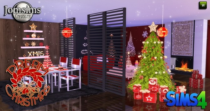 DREAM CHRISTMAS 2015 DINING AND LIVINGROOM AT JOMSIMS
