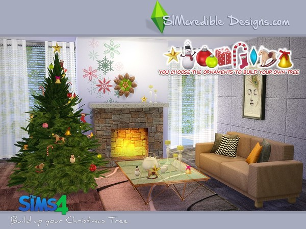 Build up your Christmas tree by SIMcredible
